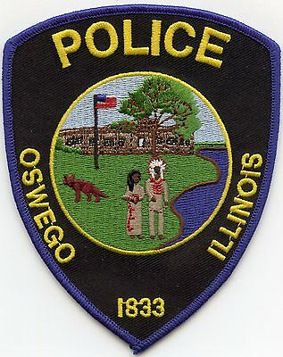 Oswego Illinois Il Police Patch