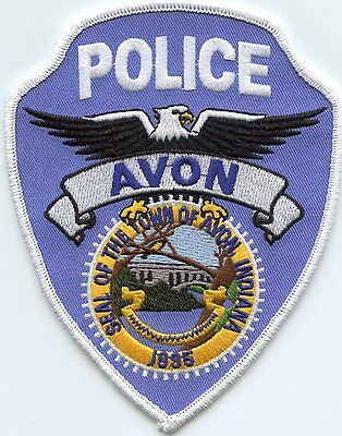 Avon Indiana In Police Patch