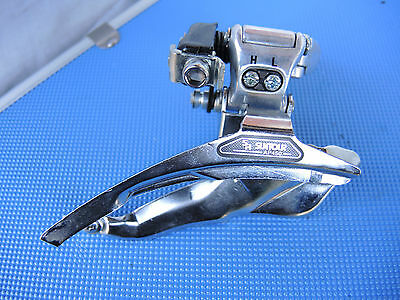 New Old Stock Sr Suntour Ap450 Top Pull Front Derailleur -31.8Mm Band On Fitment