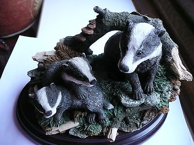 Country Artists Badger Ornament