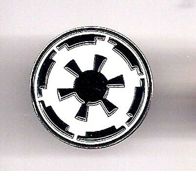"""Star Wars Imperial Logo 1"""" Cloisonne Metal Lapel Pin- USA Mailed (SWPI-25)"""