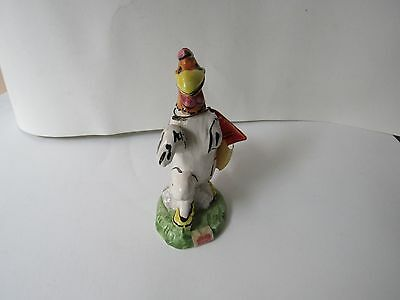 Vintage Carosello Warner Brothers Decanter Hand Painted In Italy Foghorn Leghorn