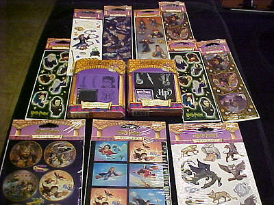 Harry Potter Warner Bros 8 Stamps 20 Total Strips 2 Inkpads Party Favors