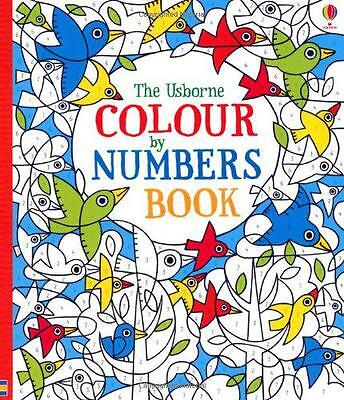 Colour by Numbers Book, Fiona Watt | Paperback Book | 9781409536451 | NEW