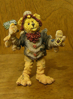 Boyds Shoebox Bears #3232 Giblet McBaste...You Turkey  NIB Thanksgiving, Jointed