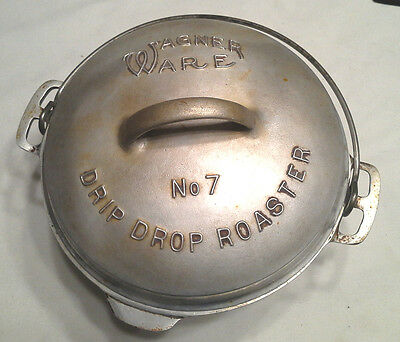 Wagner Ware No.7 Drip Drop Roaster