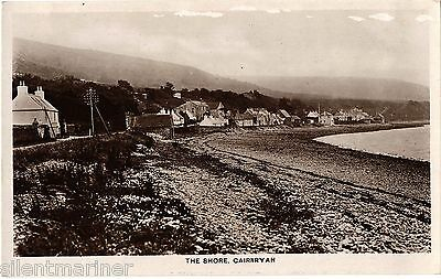 Cairnryan, The Shore, old RP postcard, unposted