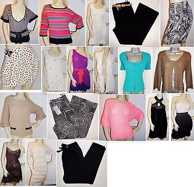Joblot Of 40 New Womens High Street Clothing.  Sizes 8-Plus.  Bnwt!!!