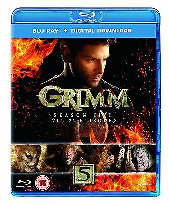 """Grimm: Season Series 5 Blu ray New & Sealed RB """"on sale for a limited time"""""""
