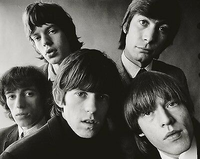 "Rolling Stones 10"" x 8"" Photograph no 21"