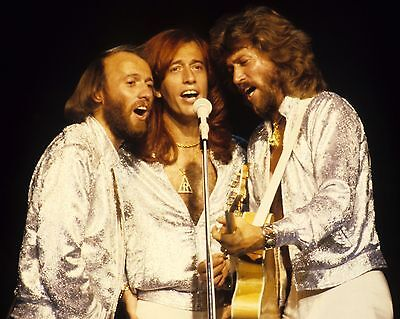 """Bee Gees 10"""" x 8"""" Photograph no 1"""