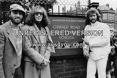 """Bee Gees 10"""" x 8"""" Photograph no 6"""