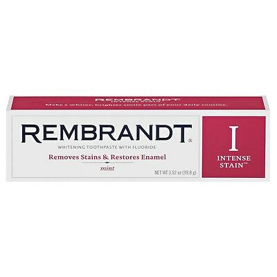Rembrandt Intense Stain Remover Mint Toothpaste 3.52 ounce
