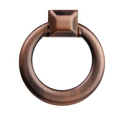 Vintage Cabinet Door Drawer Cupboard Pull Handle Ring Knob Red Bronze 40mm