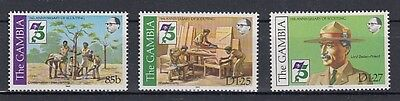 Gambia  438 - 40  Pfadfinder  Scouts   **  (mnh)