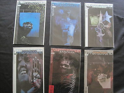 SANDMAN 51,52,53,54,55,56 : COMPLETE 6 ISSUE STORY ARC by GAIMAN etc. DC.1993