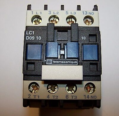 Contactor Telemecanique LC1 D0910N5 415V AC 4kW 5HP