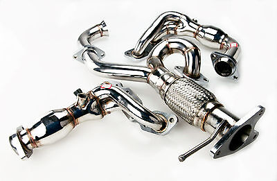 Stainless Steel Exhaust Manifold & Y Pipe For Ford Mondeo Mk3 2.5 V6