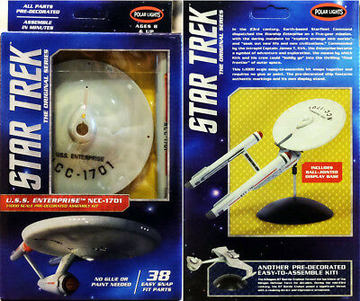 Star Trek TOS U.S.S. Enterprise NCC-1701 USS 1:1000 Bausatz Polar Lights POL936