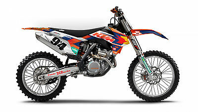 Ktm Dungey Musquin Graphics Kit Exc Sx Xc 200 250 300 450 Sxf ( 2011 2012 )