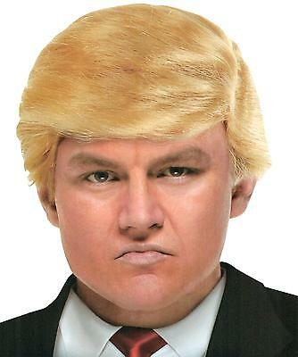 Billionaire Political Blonde Trump Comb Over Wig Costume Accessory Mr178136