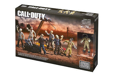 Call Of Duty Zombie Horde Mega Bloks Collector 06826 Zombiehorde Mob CNF16