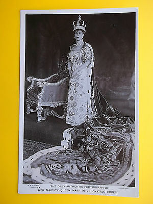 Coronation Robes QUEEN MARY 22 June 1911 *Vintage* Royalty RP