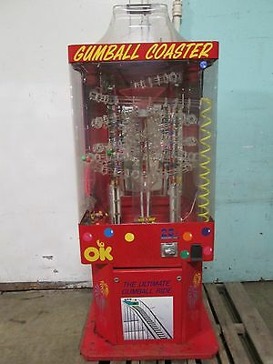 """""""ok Manufacturing"""" Commercial Musical Lighted Coin-Operated Gumball Machine"""
