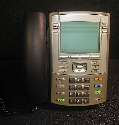 Avaya/Nortel 1140E IP Office Phone Model NTYS05 w/ Handset & Stand