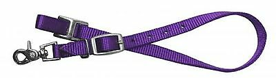 Western PURPLE Nylon WITHER STRAP For Breast Collars New Horse Tack