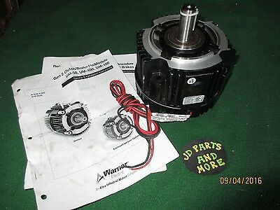 New Gen 2 Warner Electric Clutch Brake 5370-273-214(Um-180-1020) 90 Dc,3600 Rpm