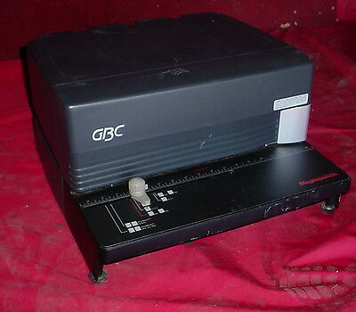 GBC Magnapunch Table Top Hole Punch With Die ~Tested Working