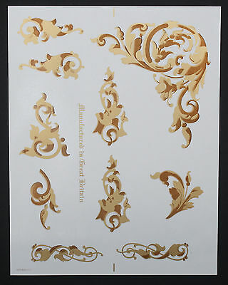 Singer 103 Commercial  Sewing Machine Restoration Decals Acanthus Leaves