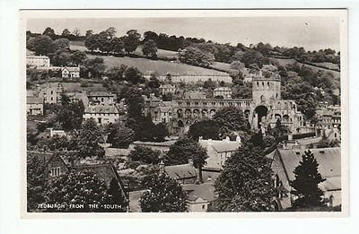 Jedburgh General View From The South Roxburgh Real Photograph Walter Easton