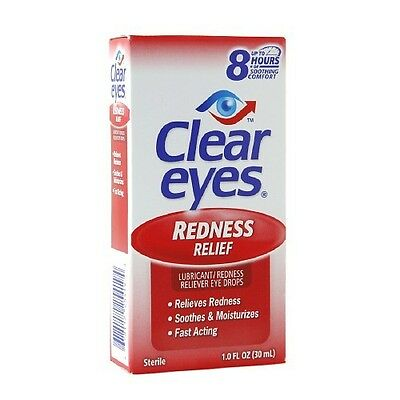 Clear Eyes Redness Relief Eye Drops 1oz