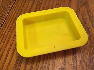 Vintage Yellow Swimming Pool Marked Marx Dollhouse Furniture Renwal Compatible