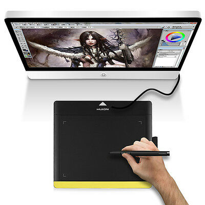 "Huion 680TF 8 x6"" Professional USB Art Stylo Graphique Drawing Tablet Dessin Pad"