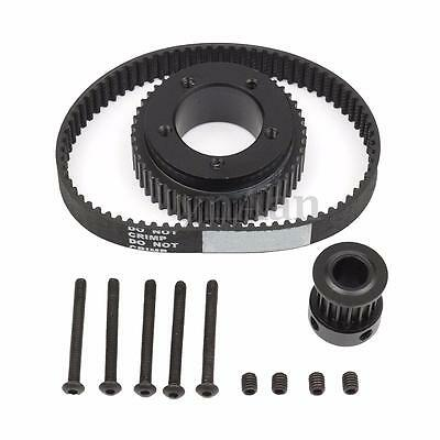 Single Drive DIY Electric Skateboard Kit Parts Pulley For 72/70MM Wheels New