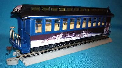Hawthorne Village Silver Moon Express, The Gathering Coach Car w/Wolves