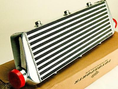 "2.5"" UNIVERSAL FRONT MOUNT INTERCOOLER VW GOLF 20v TURBO TYPE E 550x175x64MM"