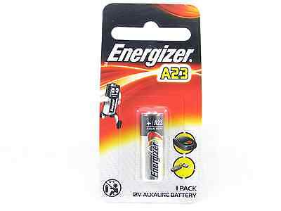 Genuine Energizer A23 23A MN21 VR22 L1028 GP23A 12V Alkaline Battery Expire 2019