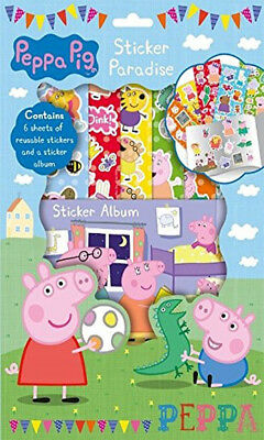 Peppa Pig Sticker Paradise Childrens Activity Gift Stocking Filler