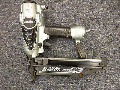 "Hitachi NT 65M2 2 1/2"" Finish Nailer  Good Used Condition!"