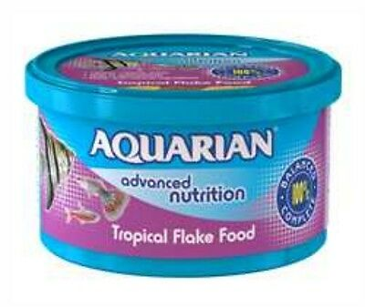 AQUARIAN TROPICAL FLAKE FISH FOOD 25g 5010394996778