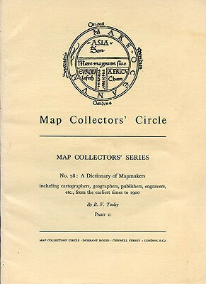 6 Volumes Rare Antique Map Collectors Circle Cartography Geography Publisher Art