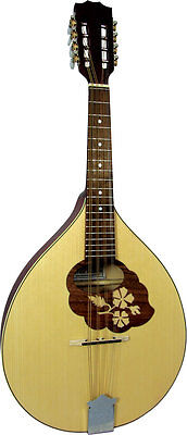 Blue Moon TENOR MANDOLA, Marquetry. Solid spruce top. From Hobgoblin Music