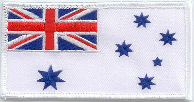 Flag Patch Australian Navy Ensign For Camo Uniform - New