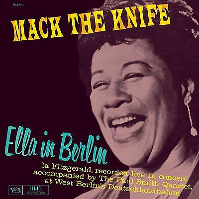 "Ella Fitzgerald ""live in berlin"" Vinyl LP NEU ""mack the knife"" Re-Issue 2010"