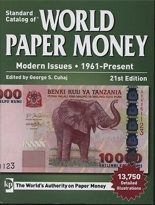 Standard Catalog of World Paper Money 1961 - Present 21st Edition Used