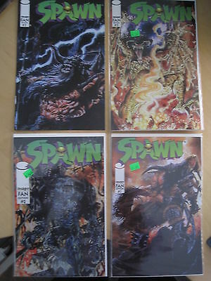 Spawn, Fan Edition : Complete 3 Issue Series + #3 Variant. Stored From New.1996